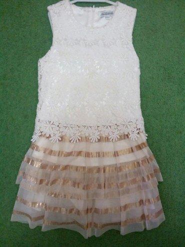 ажурное,очень нежное платье с меховой накидкой. подойдет вашей принцес в Бишкек