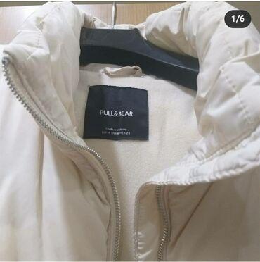 вешалка для верхней одежды в Азербайджан: Kurtka brend pul end bear m beden turkiyeden getizdirilib razmer