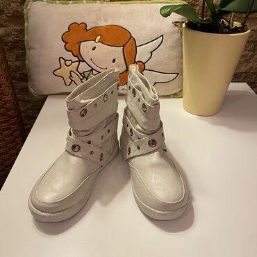 Decije cizme - Srbija: TOTALNA RASPRODAJA!!!   Nove bele cizmice sa krznom za devojcicu, dost