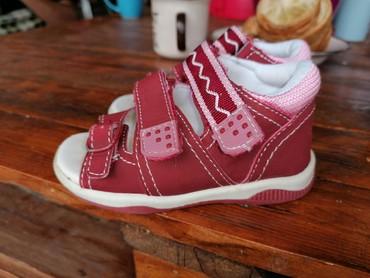 Dečije Cipele i Čizme | Leskovac: Sandalice cup cake, br. 21 u dobrom stanju. Kratko nosene