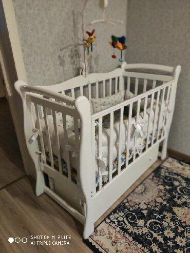 Детская кровать Джулия. МаятникЯщикНакладкиБерёзаСъёмная планкаБрали