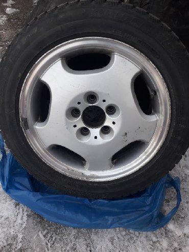 диски японские в Кыргызстан: Продаю диски с зимней японской резиной на мерседес R 16, 4шт.