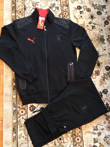PUMA Ferrari мужской спортивный костюм, производство Турция качество