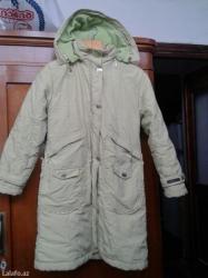 Bakı şəhərində Куртка-пальто на девочку 10-12 лет. салатового цвета.
