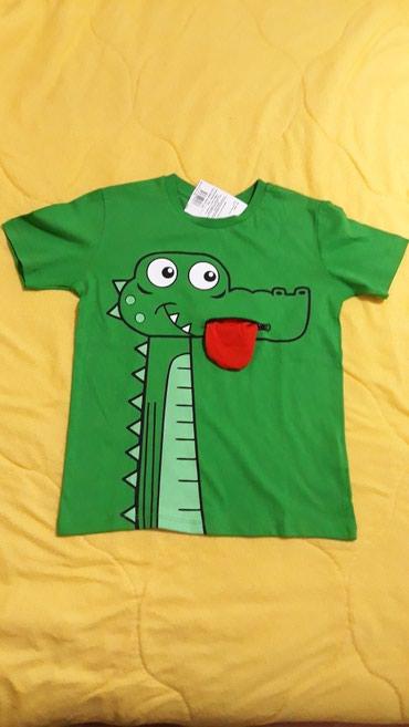 NOVO! Prelepa majica za decaka, velicina 6-7 godina - Valjevo