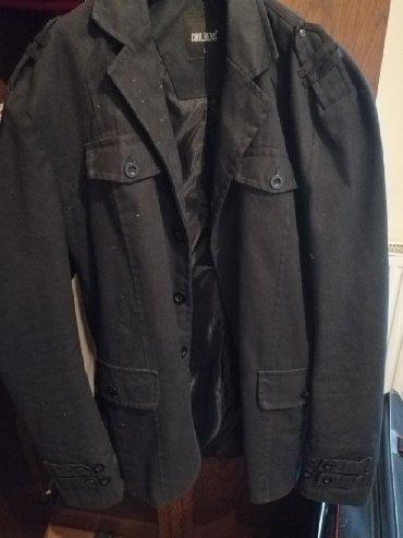 Bez-jakna-l - Srbija: COOLBERG, nova jakna, sako, nosena par puta, Crne boje, bez ijednog