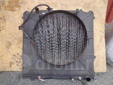 Тойота сурф 185. обьем 3.0 радиатор и диффузор дизель.  Радиатор Toyot