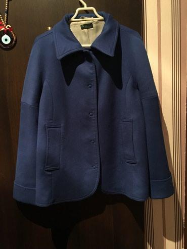 Bakı şəhərində Beneton palto 40 42 razmer tund goy reng 1 defe geyilib teze kimi baha