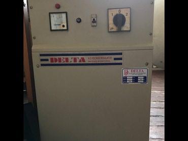 Naxçıvan şəhərində Delta Voltage Regulator 25 kiloWatt. Türkiyə istehsalıdır.
