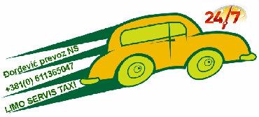 Taxi Novi Sad - Čelarevo,Privatni najam/zakup vozila sa vozačem (do 4