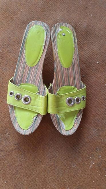 Drvene papuce, broj 37, koriscene, cena 200 din. - Krusevac