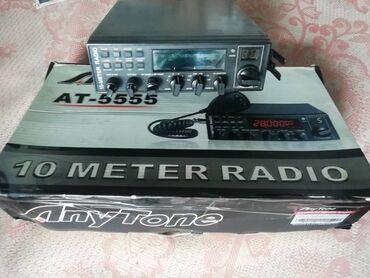Радио 10метров АТ-5555. Выходная мощность 40Вт./25.615-30.105 мгц