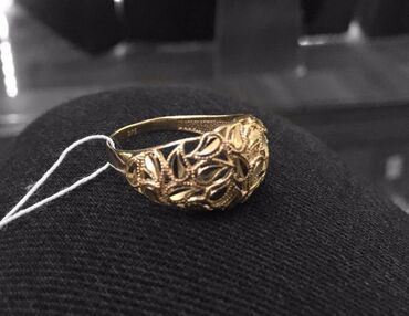 sergi iz zolota 375 proby в Кыргызстан: Золотое кольцо 20 размер Проба 375