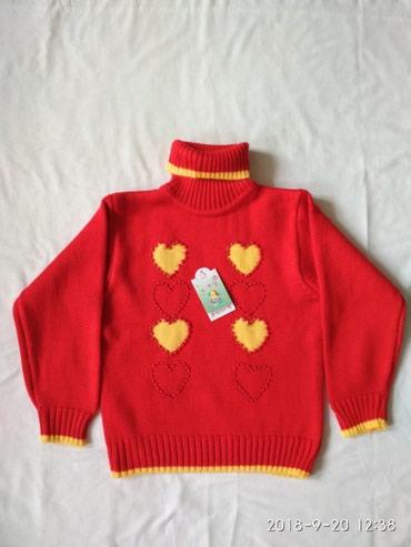 одежда для детей в Кыргызстан: Свитерок для девочки,новый,размер16.дл-44см,ш-35см,дл.р-39 см