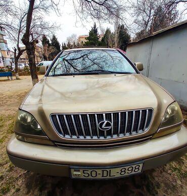 - Azərbaycan: Lexus RX 3 l. 1998   201117 km