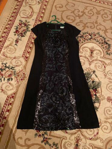 нарядные платья на свадьбу в Кыргызстан: 1- чёрное платье, Турция . Размер 46(турецкий )на 52 пойдет . 2-