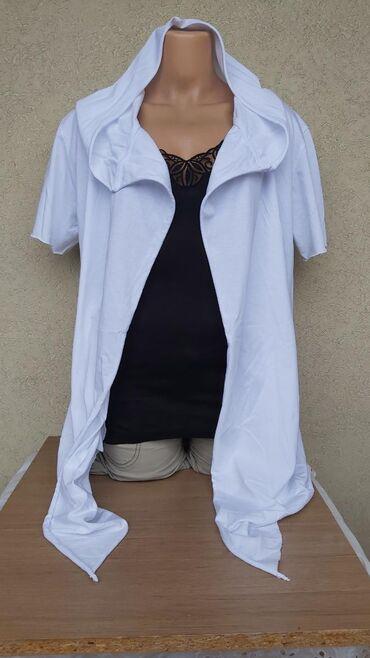 Košulje i bluze | Pozarevac: Pamucni kardigan kratkih rukavaNOVO bez etiketeDuzina 76cmGrudi