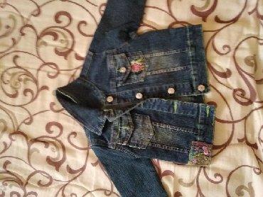 Preslatka teksas jaknica za devojčice,za uzrast 2-3 god.ne pise