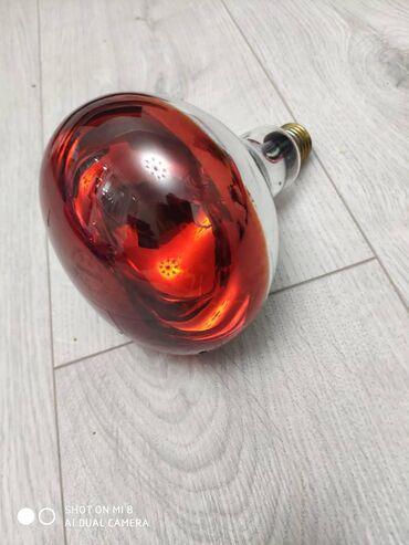 Лампа ультрокрасная для цыплят 6 мкр