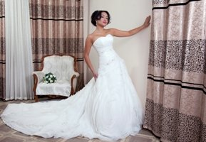 Свадебное платье на прокат 15000, продажа 20000. В подарок в Бишкек