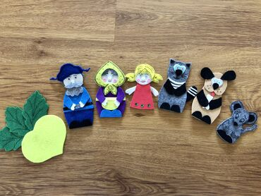 дом-для-кукол в Кыргызстан: Игрушки  Домашний театр  Кукольный театр  Развивающие, обучающие игруш