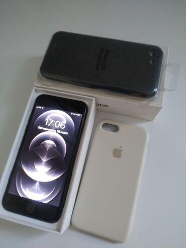 Электроника - Токмок: IPhone 7 | 32 ГБ | Черный (Jet Black) | Отпечаток пальца, С документами