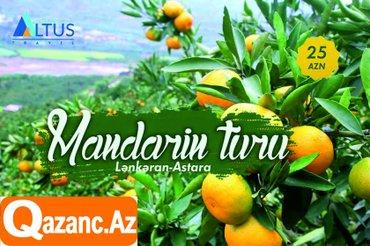 Bakı şəhərində Lənkəran-astara mandarin-sitrus bağlarına ekskursiya turuqiymət: 25