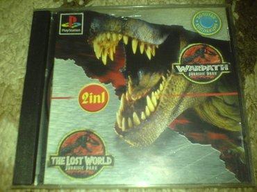 Bakı şəhərində Jurassic park 1,2 oyunu playstation 1 ucun qiymet sondur
