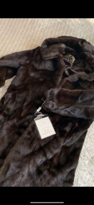 Куплю бриллианты - Кыргызстан: Срочно продаю норковую шубу новую длинна 100см с капюшоном  натуральны