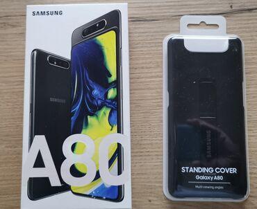Samsung A80 | 8 GB | Μαύρος | Μεταχειρισμένο