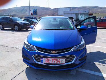 Chevrolet - Azərbaycan: Chevrolet Cruze 1.4 l. 2016 | 87000 km