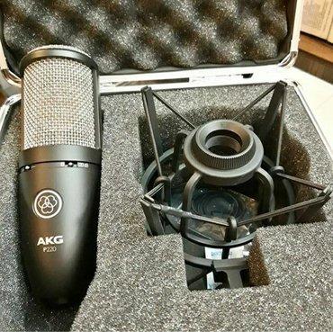 """Студийные микрофоны в Кыргызстан: Студийный микрофон от австрийского бренда """"AKG""""•Модель"""