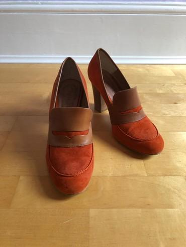 Туфли на очень удобной поатформе. 100% кожа. Состояние отдичное. Разме