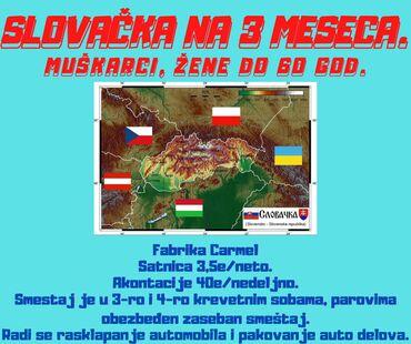 Državljani bivše Juge zaradite u Slovačkoj farbrici.Agenciji Eurojul