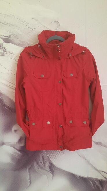 Ski jakna - Srbija: Time Out jakna vel. S u zagasito crvenoj boji. Nošena, očuvana. Može