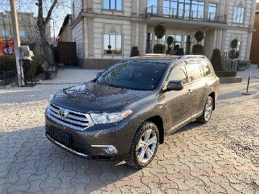 автомобиль toyota venza в Кыргызстан: Toyota Highlander 2011