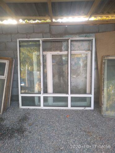 Откосы на пластиковые окна цена - Кыргызстан: Окна б/у продается пластиковые
