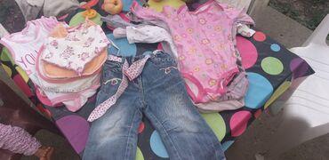 Garderoba - Srbija: Paket garderobe za bebu bodici kratki dugacki porteklice pantalone