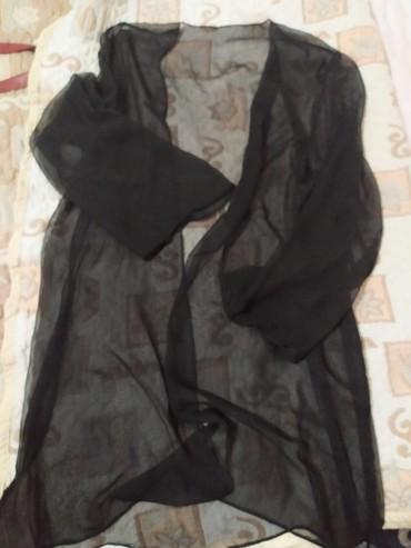трикотажные накидки в Кыргызстан: Шифоновая удлиненная накидка 46-48