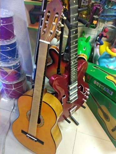 kurs - Azərbaycan: Gitara Classik - kurs üçün yeni modellər+ çanta hədiyyə verilir hər