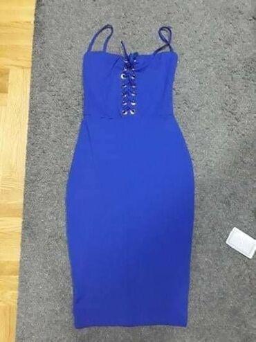 Plac - Srbija: Blony haljina bez tragova nosenja. S/m