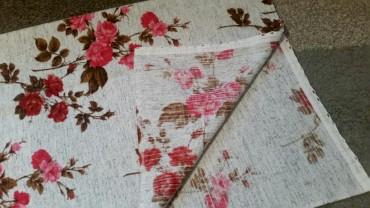 Kuća i bašta - Pirot: Draper zavesa sa ružama. Prelepa .Kome treba neka se javi .dimenzija š