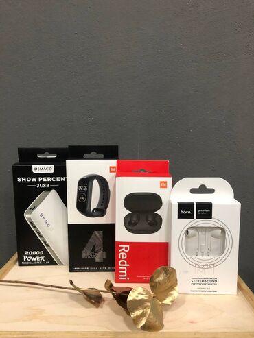 наушники tie audio в Кыргызстан: Мега акция  4 гаджета всего   redmi airdots 2 original smart braclet m