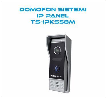 Mühafizə xidmətləri - Azərbaycan: Teksis IP Domofon Sistemi  Müasir tələblərə cavab verən domofon sistem
