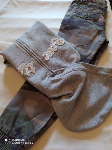 Bele pantalone - Srbija: Benetton duks i maskirne pantalone S veličina ili 120 cm,ili 6-7
