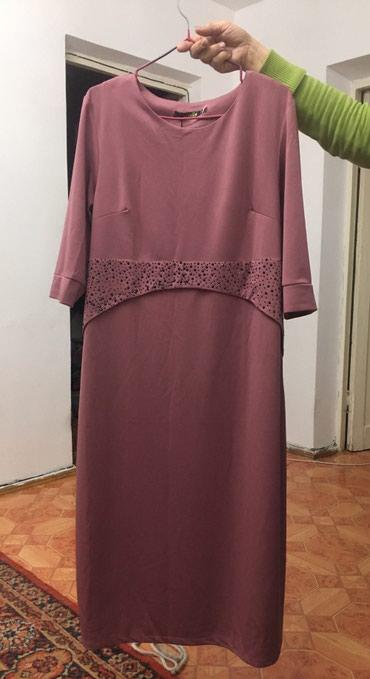 Платья - Баетов: Платье новое 50-52 размер, ткань тонкий трикотаж, цвет пурпурный