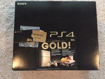 Κονσόλα Playstation 4 GOLD TACO BELL Limited Edition σπάνιο πακέτο σε Αθήνα