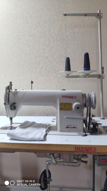 универсал-машина в Кыргызстан: HONREY HR8700 Промышленная швейная машинка. В отличном