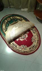 Овальный коврик для ног размер 70х100см в Бишкек