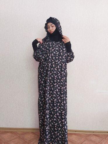 Платья в Токмак: Намазники по очень выгодной цене : Ткань штапель -трикотаж с французск
